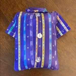 T shirt tissue holder